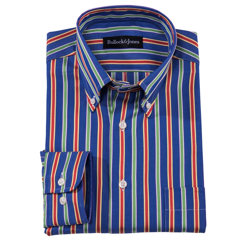 Barclay Stripe Button-Down