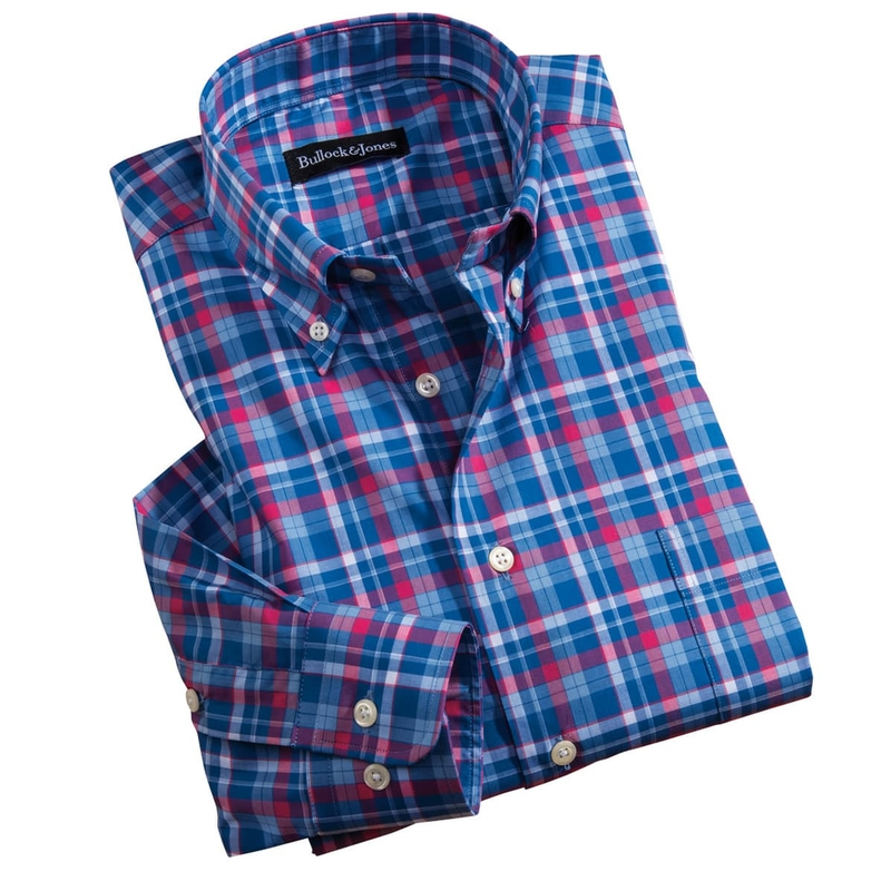 Stinson Plaid Sport Shirt