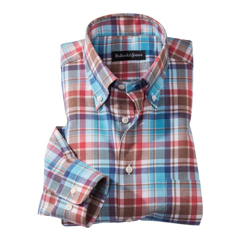 Everett Check Flannel Sport Shirt