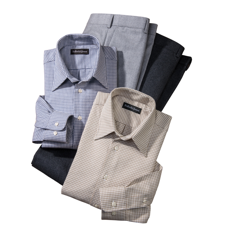 Brentwood Houndstooth Sport Shirts