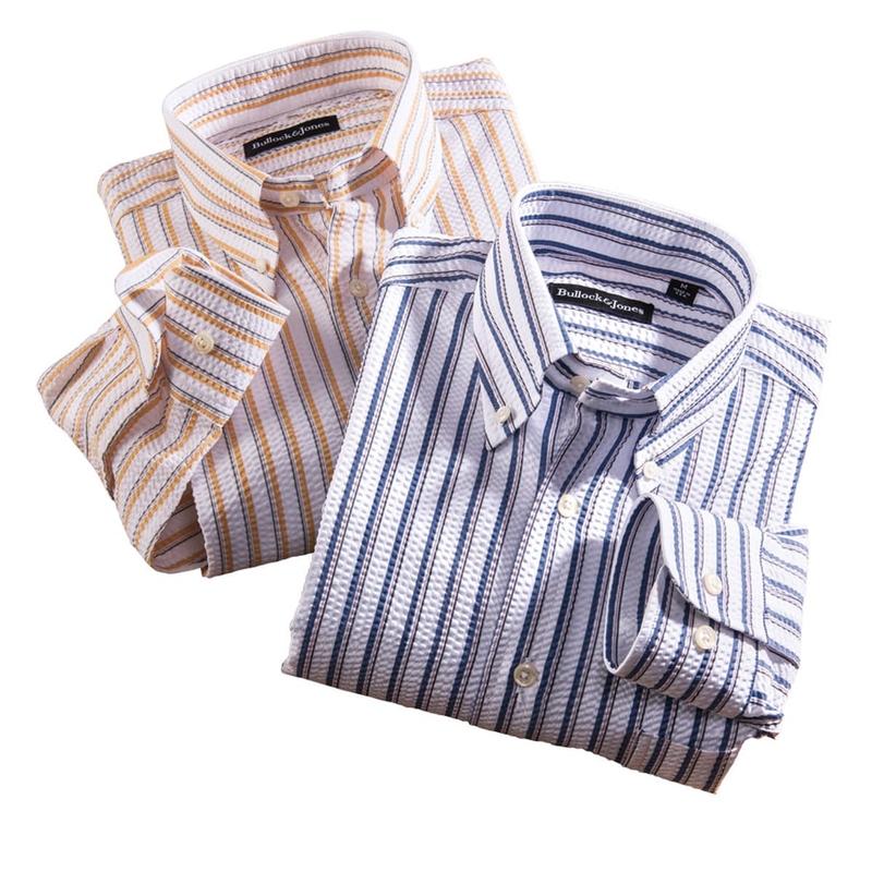 Seersucker Stripe Shirts