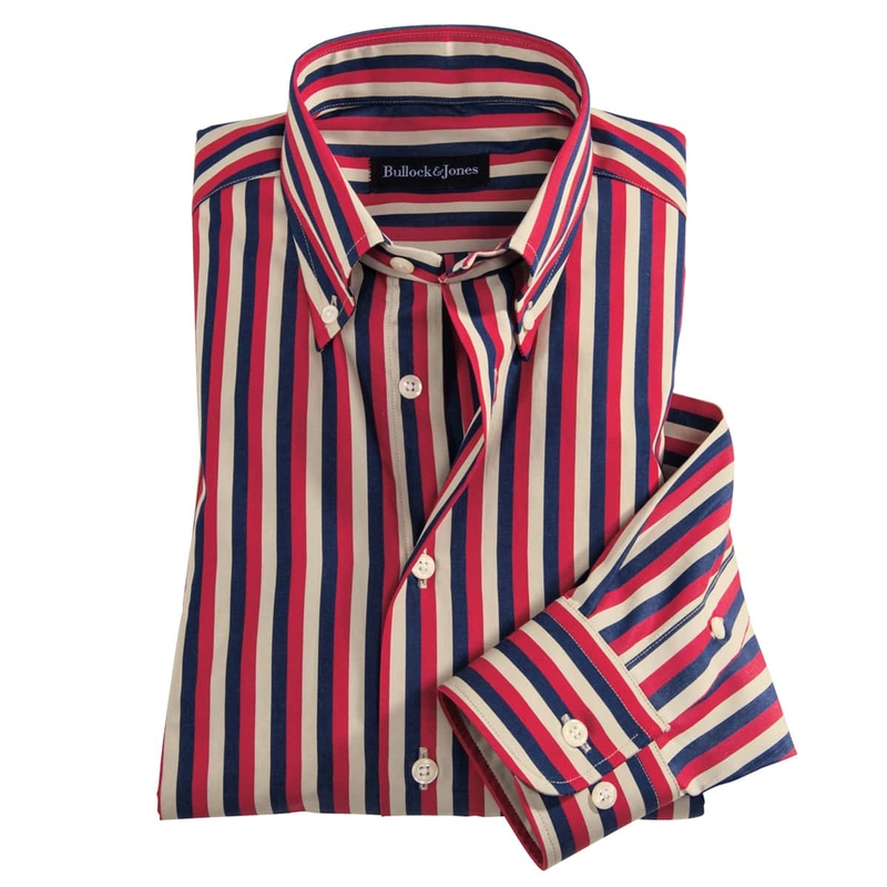 Blazer Stripe Sport Shirt