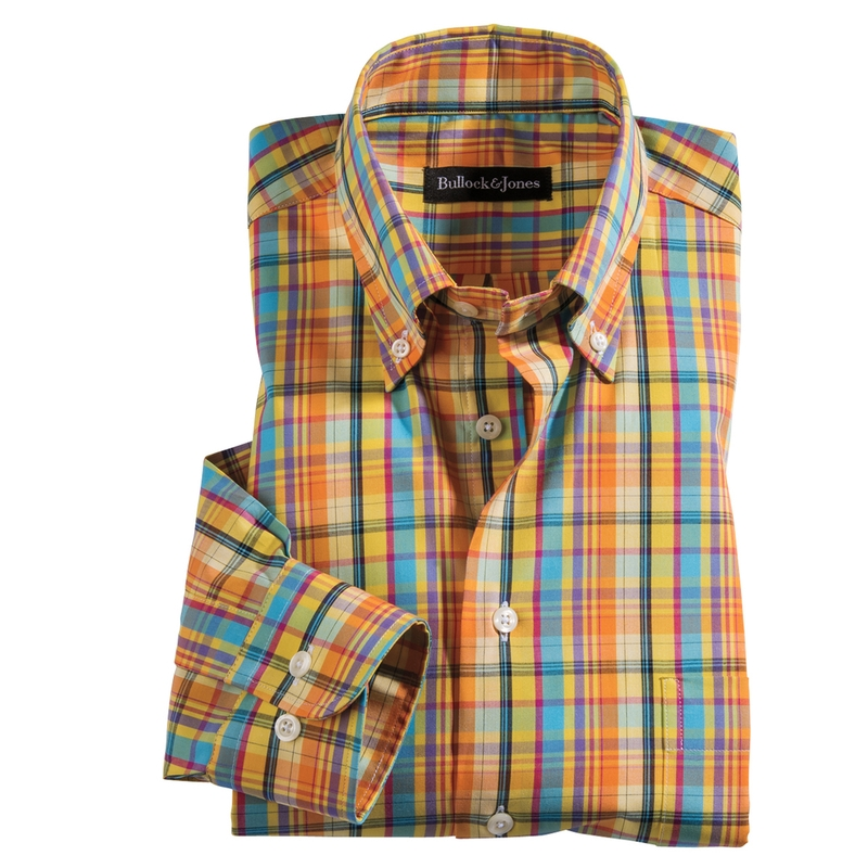 Hamilton Plaid Sport Shirt