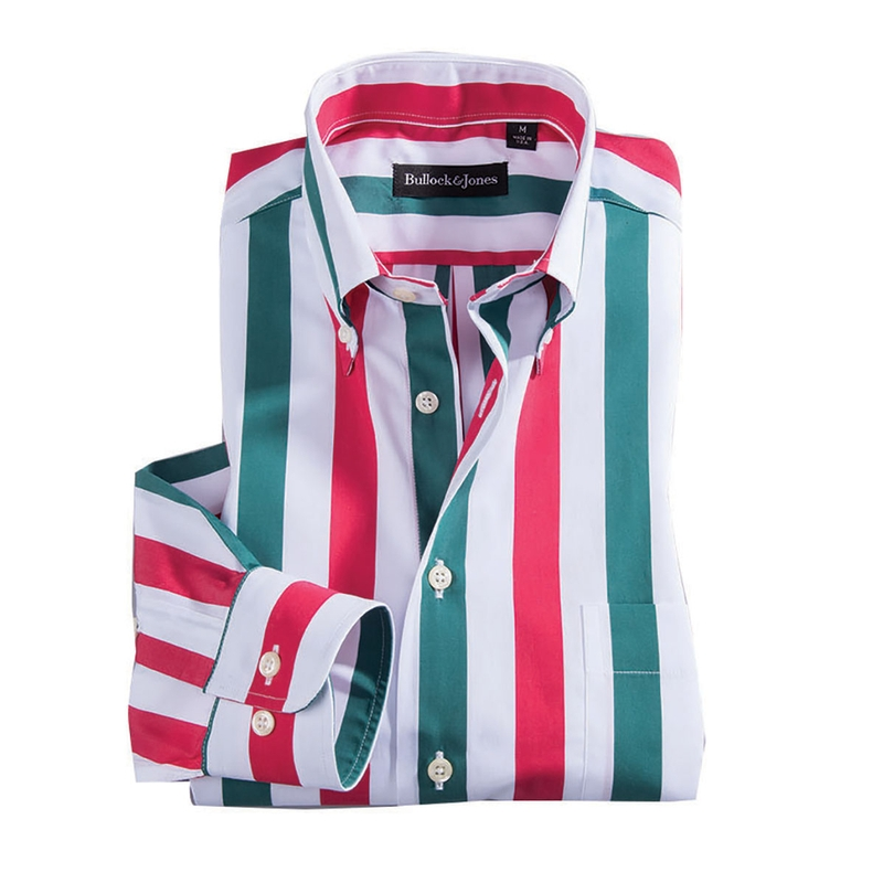 Red, White, and Green Stripes