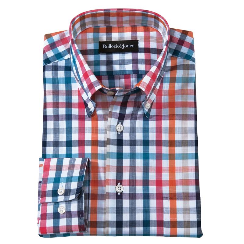 Del Mar Multicolor Sport Shirt