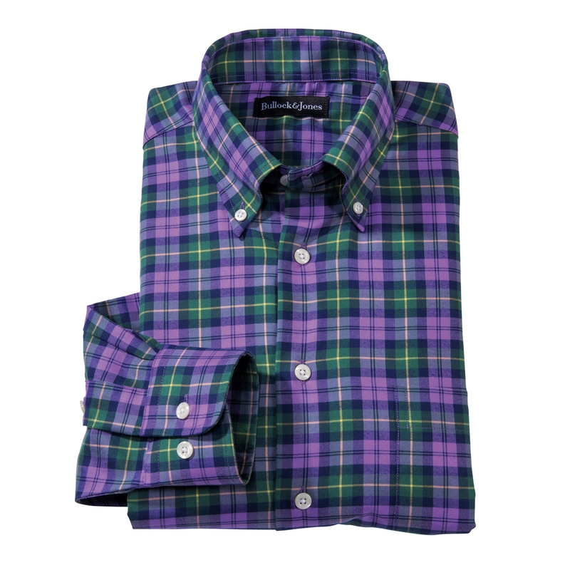 Ashby Plaid Sport Shirt