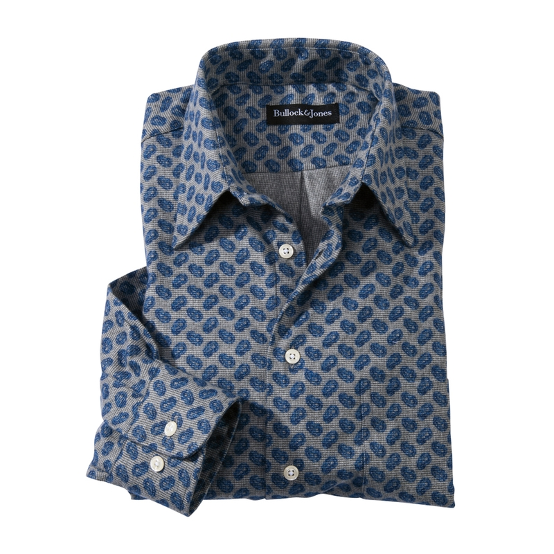 Simpson Paisley Flannel Sport Shirt