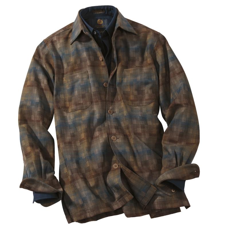 Woodland Lightweight Wool Over Shirt