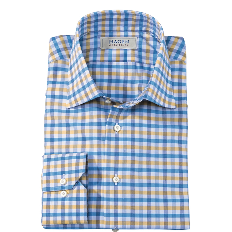 James Check Shirt by Hagen