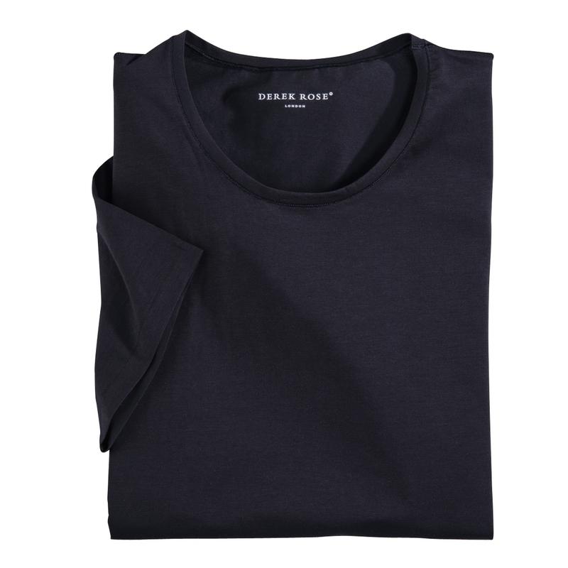 Derek Rose Crew Neck Tee Shirt