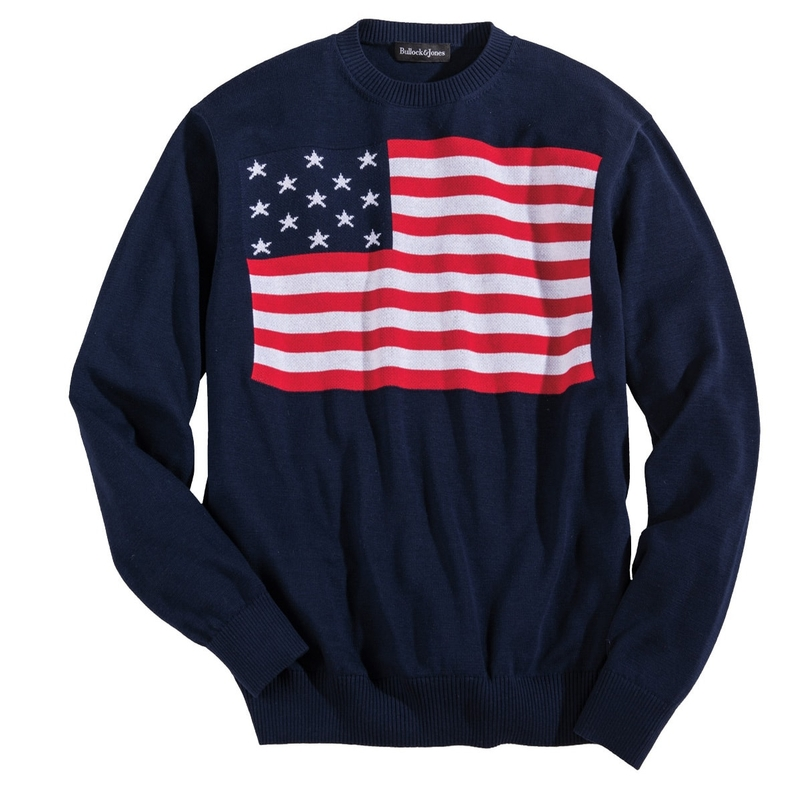 Old Glory Cotton Crewneck