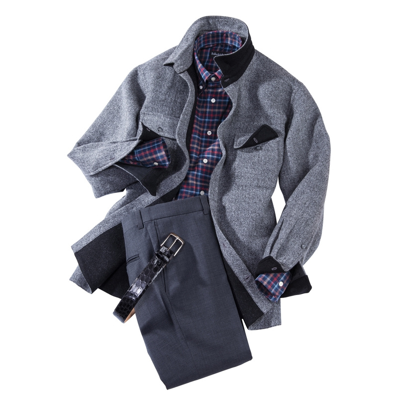 WoolAlpaca Shirt Jacket