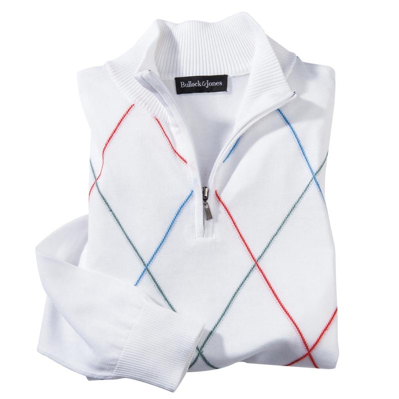 Montclair Cotton Zip Pullover