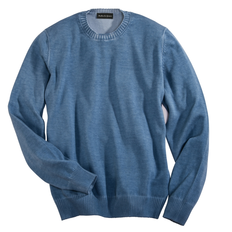 Washed Cotton Crew Necks
