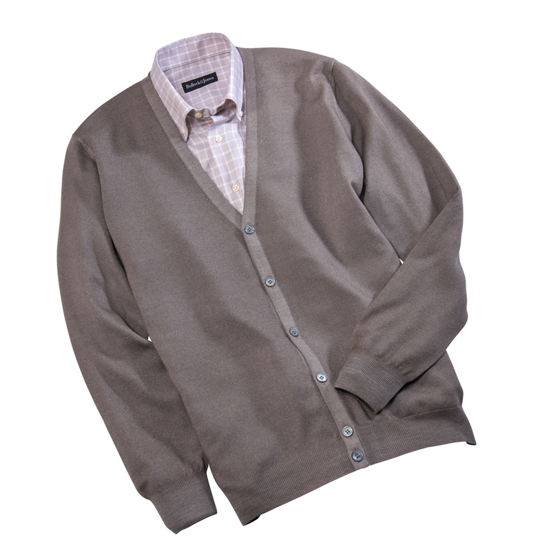 'Fresca' Merino Wool Cardigan