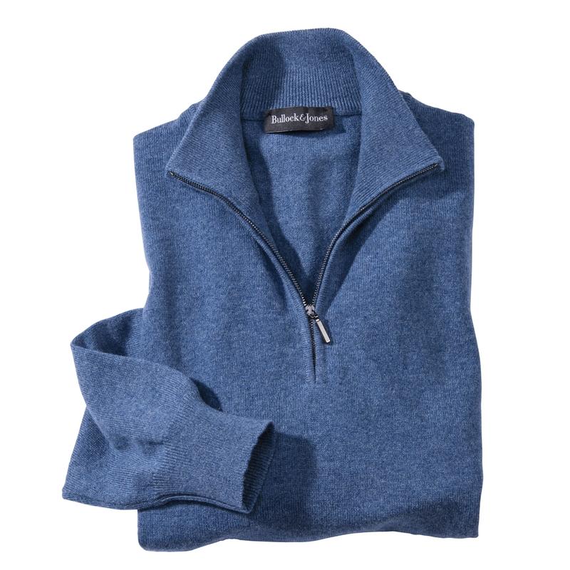 Cashmere Quarter-Zip Pullovers
