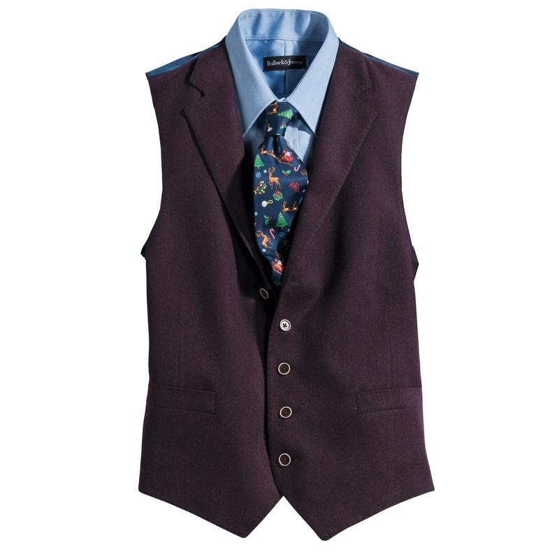 Wool Flannel Vest
