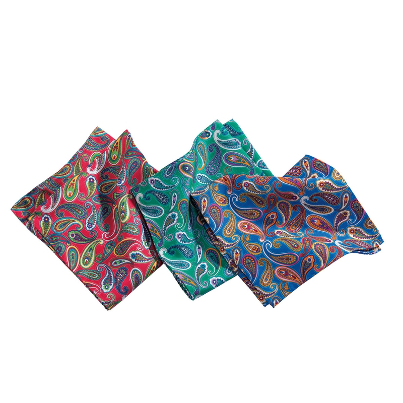 Paisley Pocket Squares