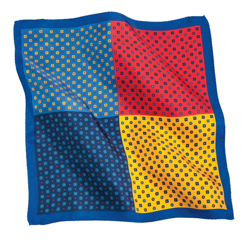 Foulard Quadrant Pocket Square