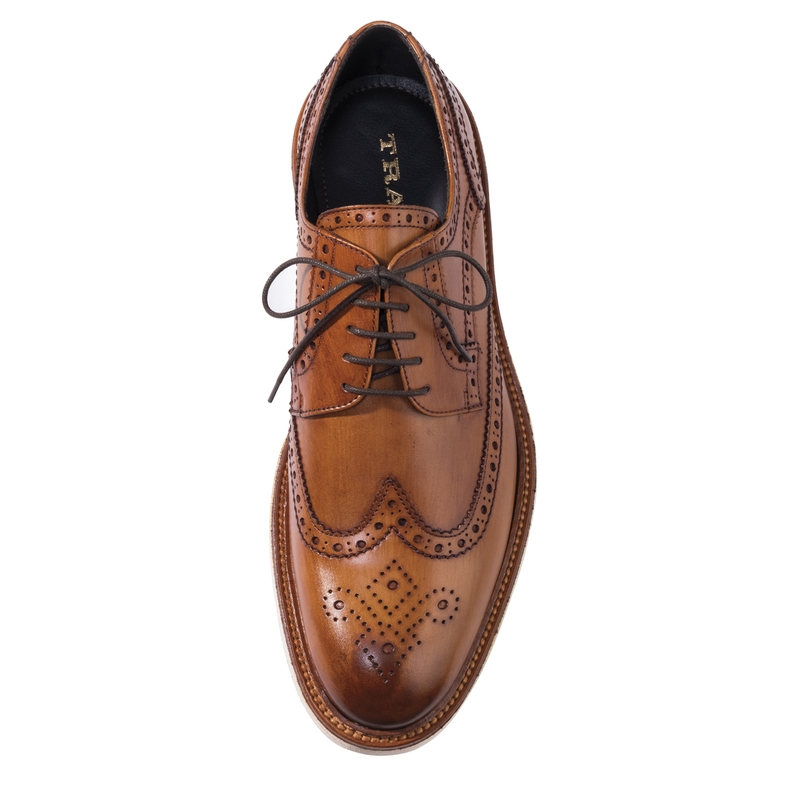 Italian Calfskin Wing-Tips by Trask
