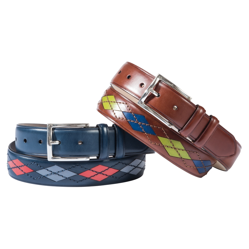 Argyle Leather Belts