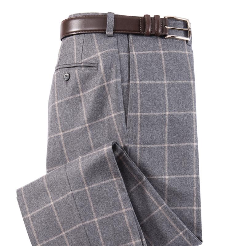 Roberts Windowpane Stretch Flannels