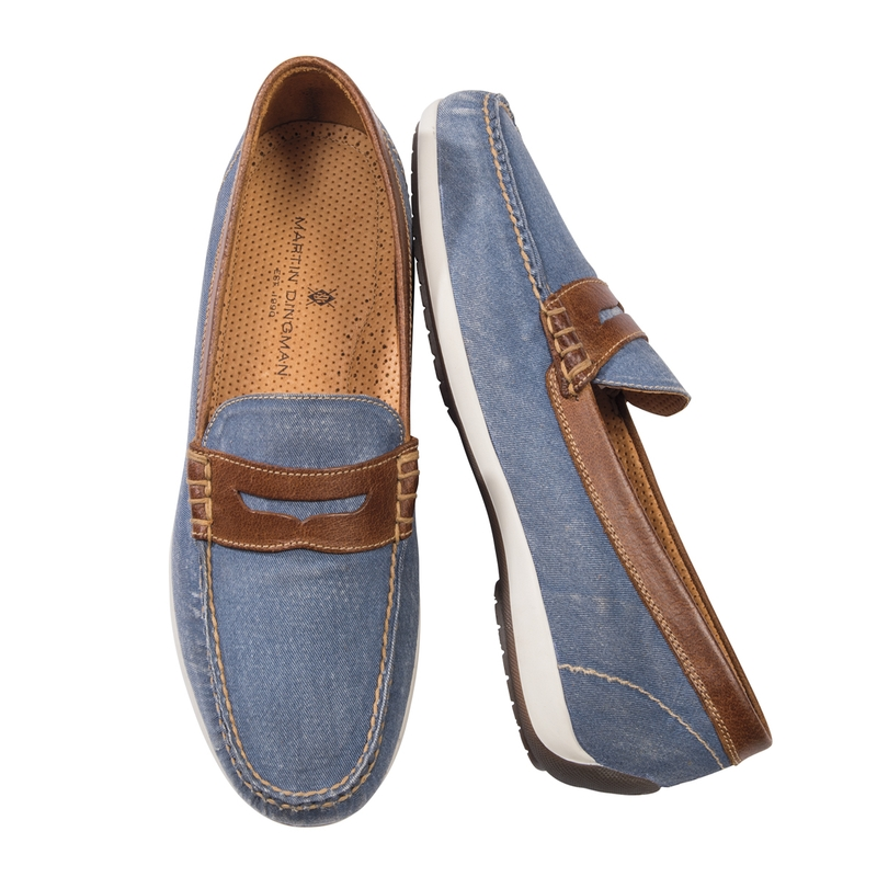 Seaside Penny Loafers From Martin Dingman