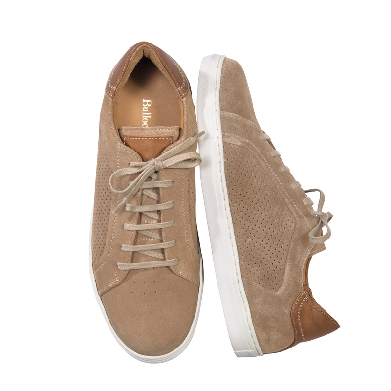Marin Perforated Suede Sneakers