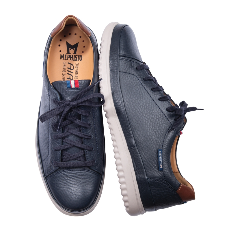 Thomas Leather Sneakers by Mephisto