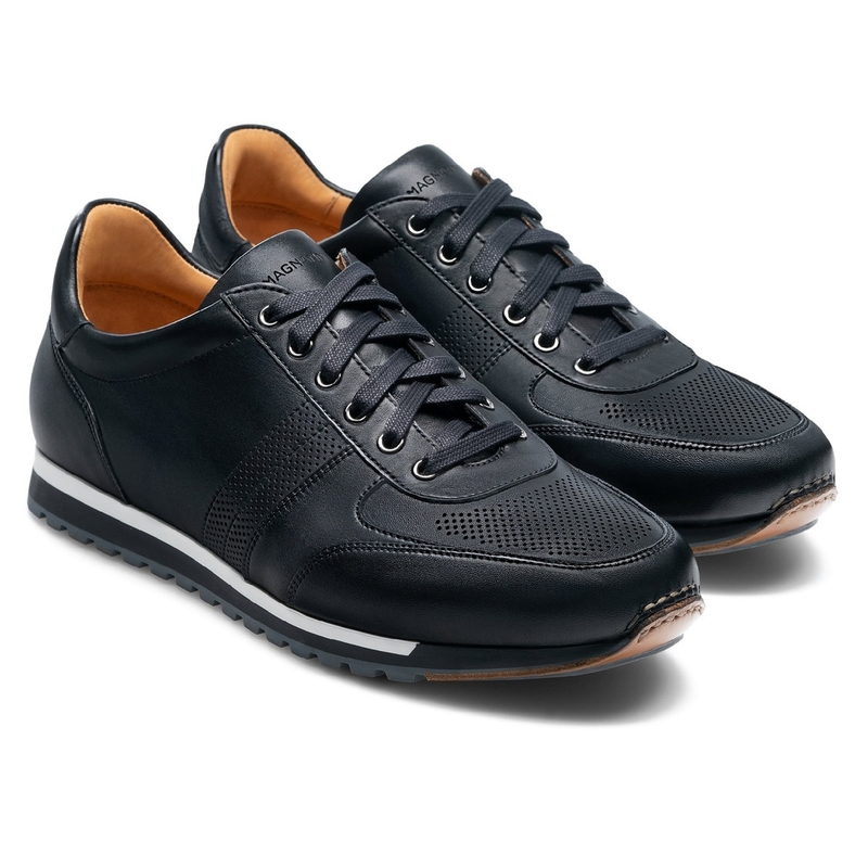 Lizandro Leather Sneaker by Magnanni
