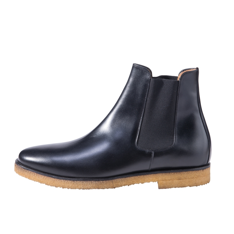 Crepe Sole Chelsea Boots