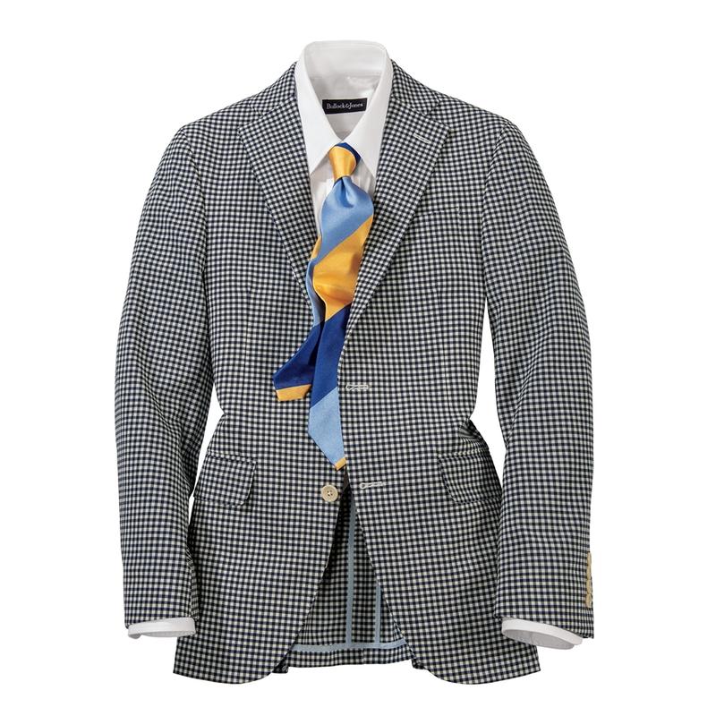 Baker Stretch Gingham Check Sport Coat
