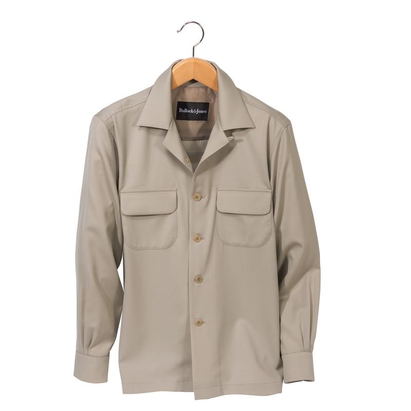Cooper Gabardine Two-Pocket Shirt