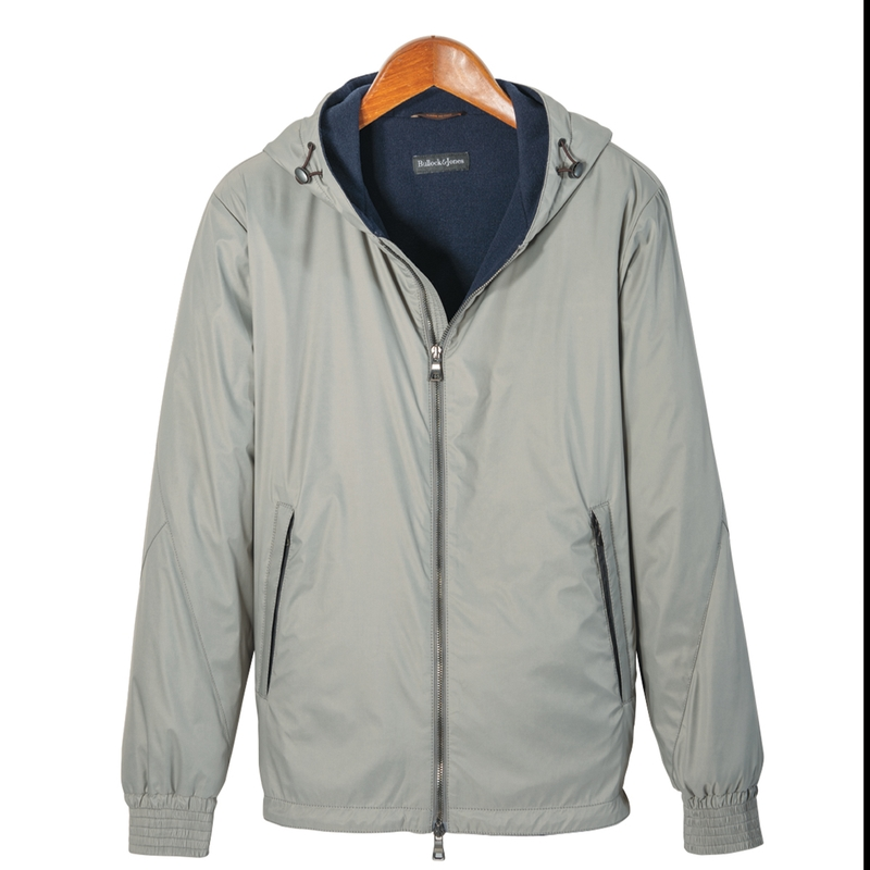 Cappa Nylon Zip Jacket