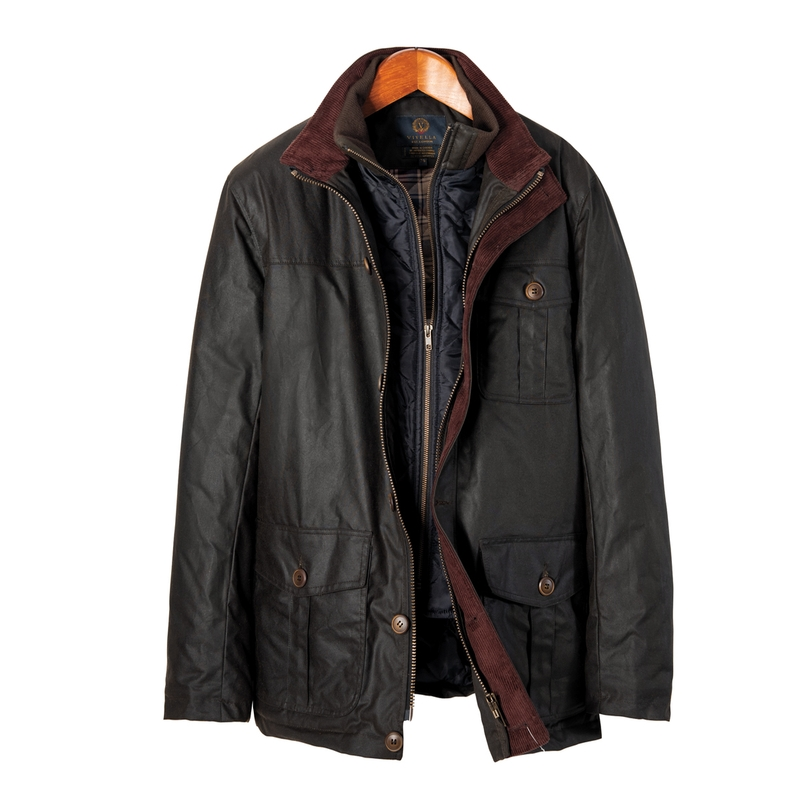 Viyella Waxed Cotton Field Jacket