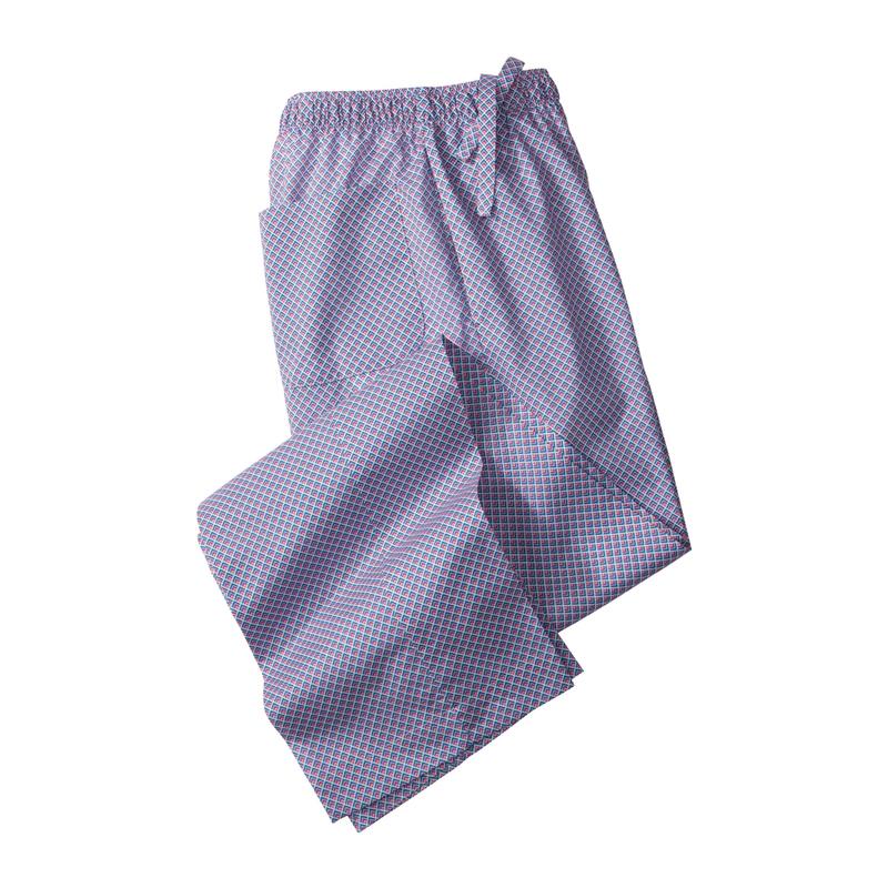Geo Print Lounge Trousers by Derek Rose