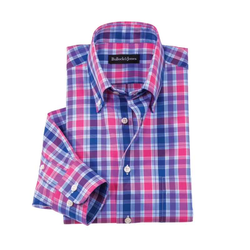 Roberts Plaid Button- Down