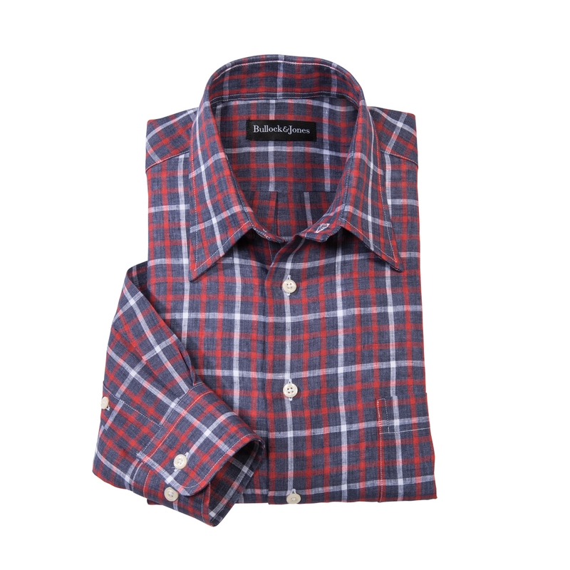 Novato Linen Tattersall Shirt