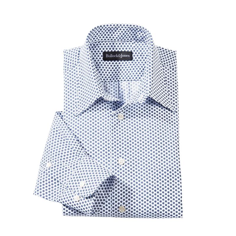 Bianco Print Sport Shirt
