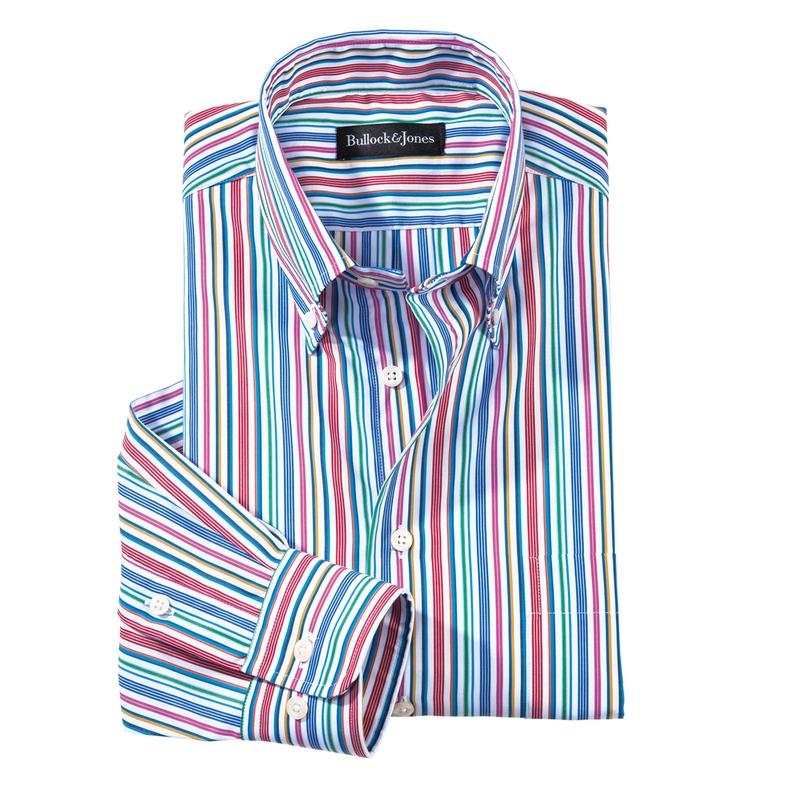 Lido Stripe Sport Shirt