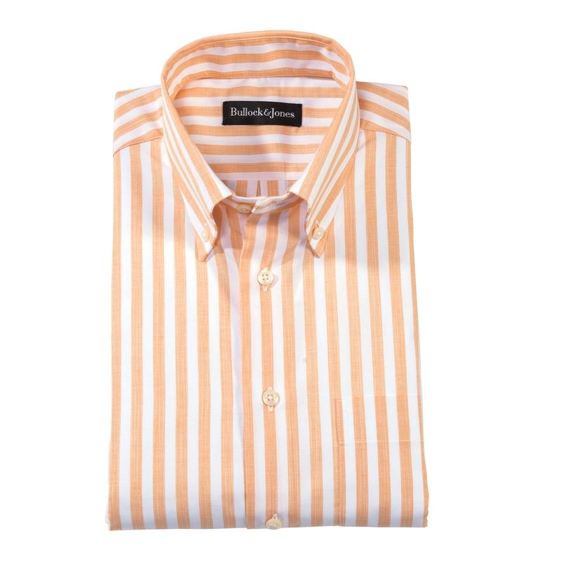 Del Mar Stripe Button- Downs Lightweight