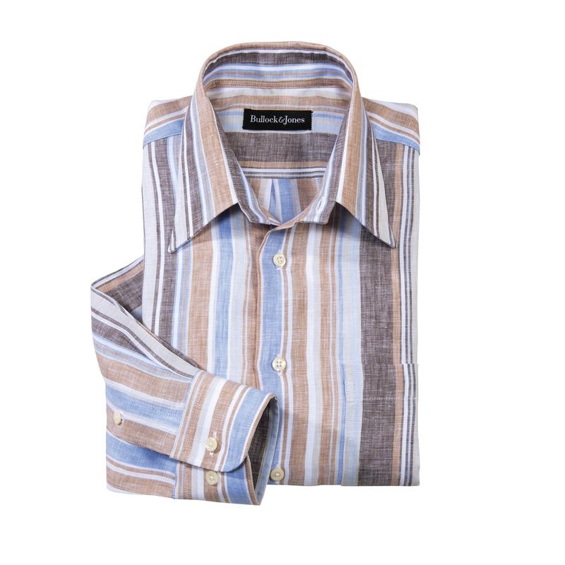 Cerrito Linen Stripe Shirt