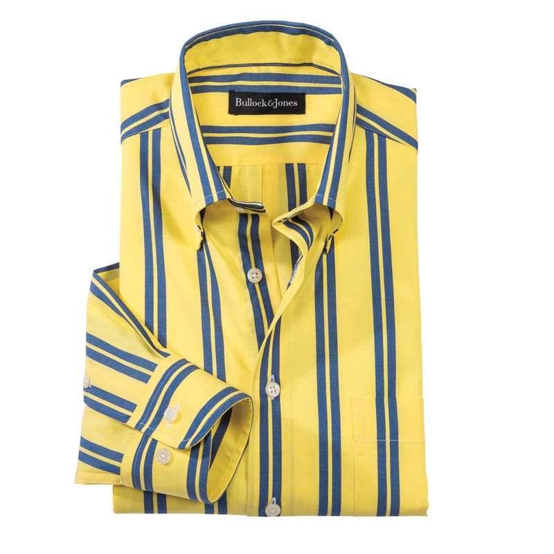 Rutherford Stripe Button-Down