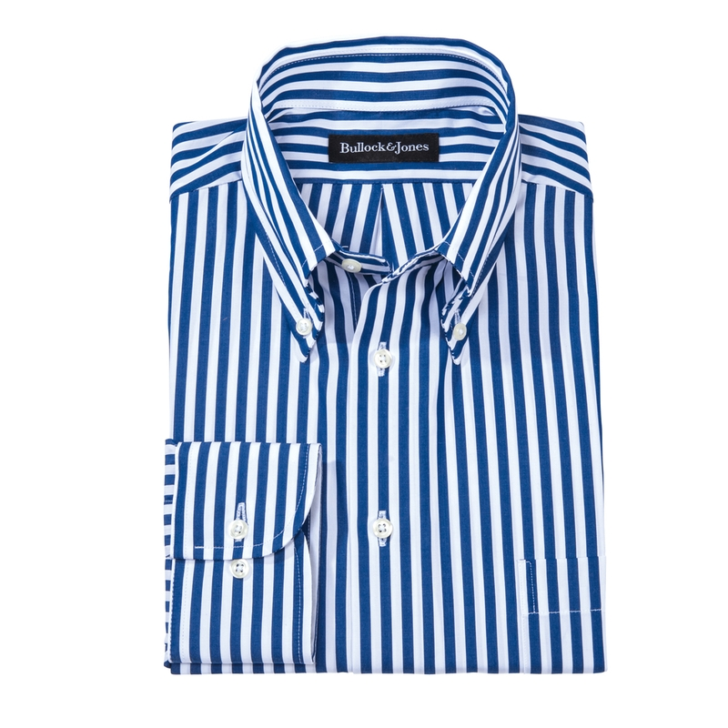 Tape Stripe Button-Down Classic