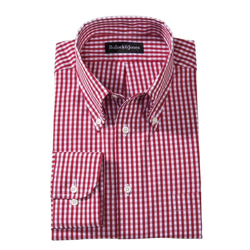 Gingham Check Button-Downs