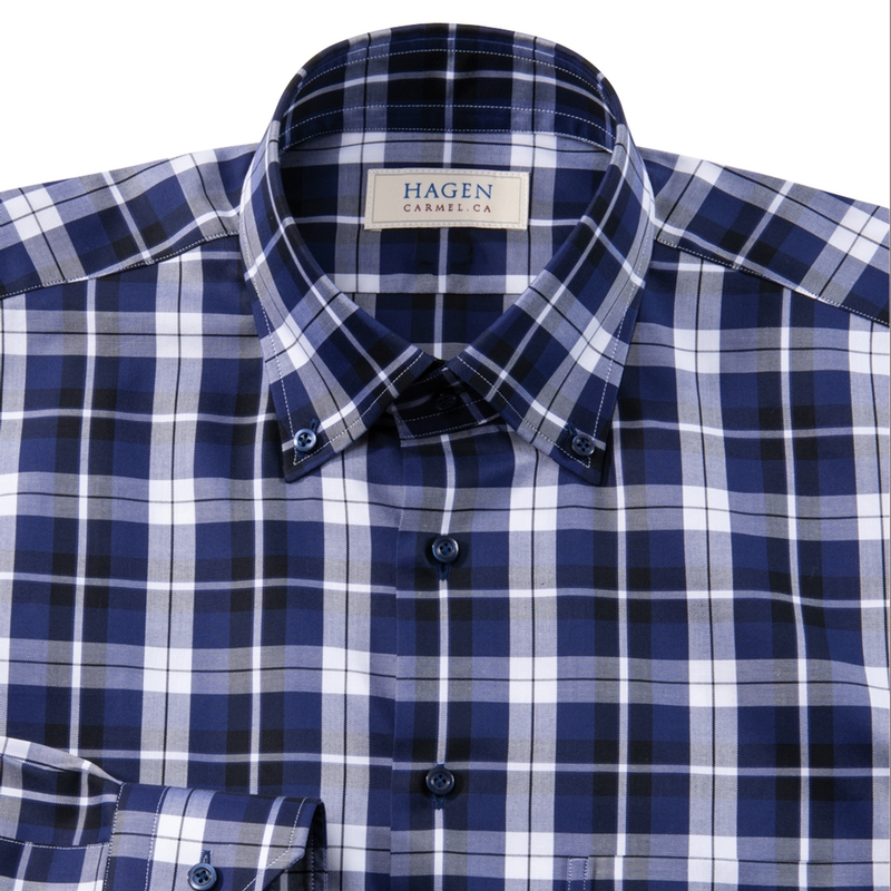'Monterey Plaid Button-Down by Hagen
