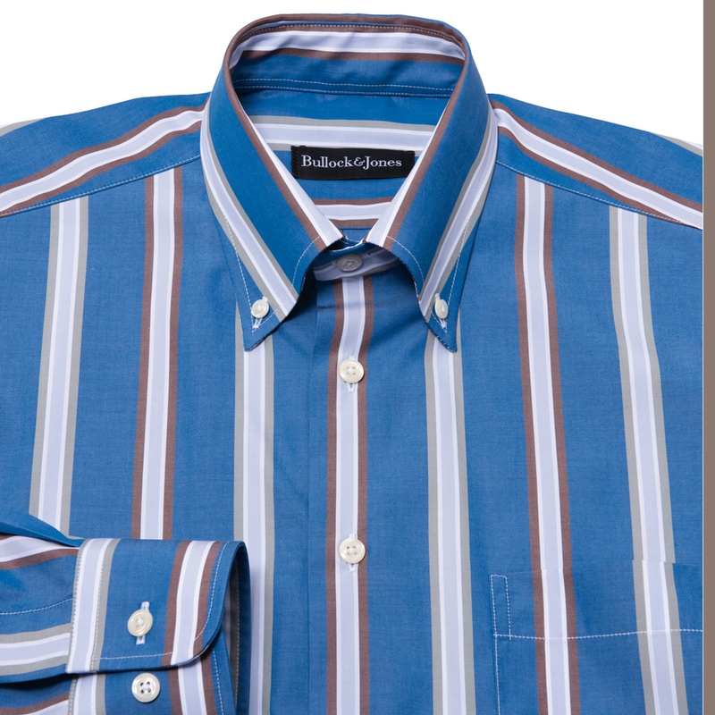 Belvedere Stripe Button-Down