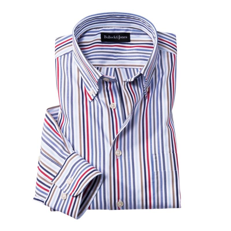 Laguna Rainbow Stripe Sport Shirt
