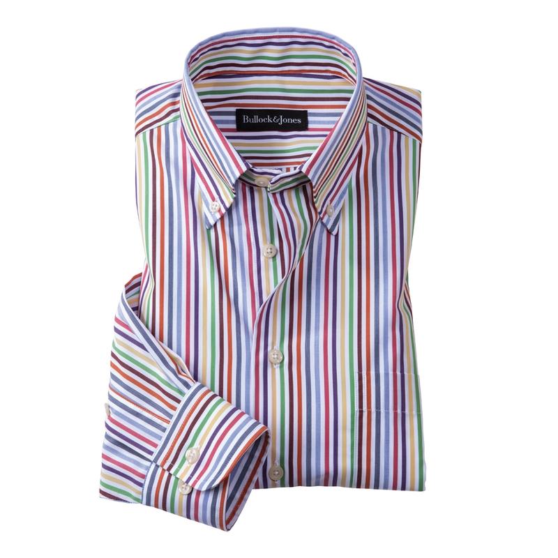 'Spettro' Stripe Button-Down