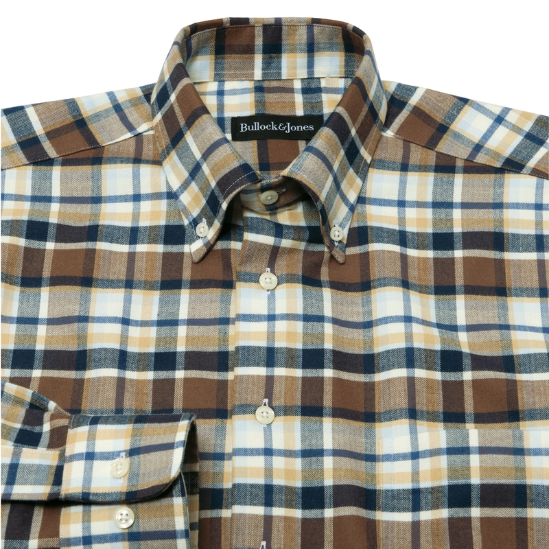 Novato Plaid Sport Shirt